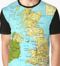 UNITED KINGDOM (MAP) Graphic T-Shirt