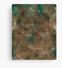 Patina Copper Canvas Print