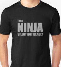 Fart Ninja, Silent But Deadly T-Shirt