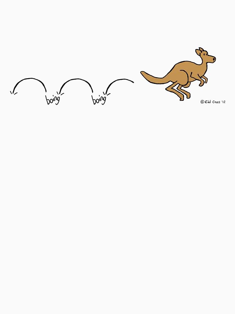 Boing Boing Kangaroo by eddcross