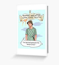 Caddyshack Greeting Card