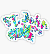 St. John, US Virgin Islands Sticker