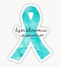 Dysautonomia Warrior Sticker