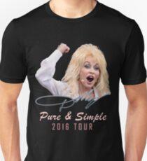 SAVN04 Dolly Parton Pure & Simple Tour 2016 Unisex T-Shirt