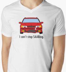 SAAB Story Men's V-Neck T-Shirt
