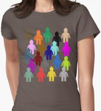 United Colors of Minifig [Large]  Women's Fitted T-Shirt