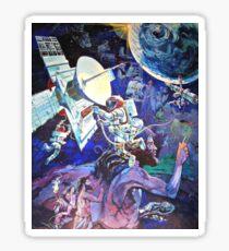 Spaceship Earth Mural Sticker