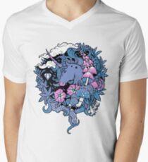- Magical Unicorn - Men's V-Neck T-Shirt