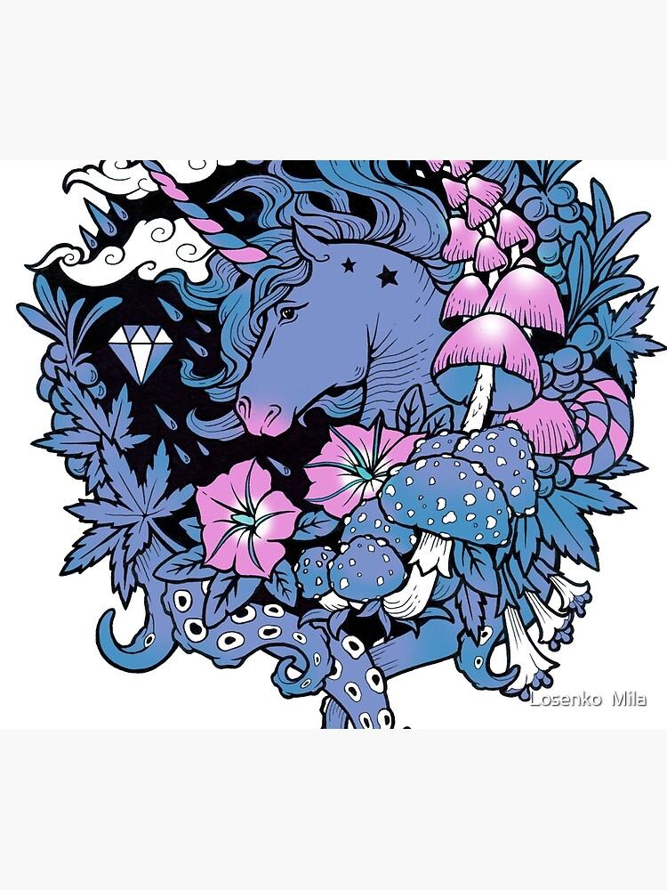 - Magical Unicorn - by Losenko