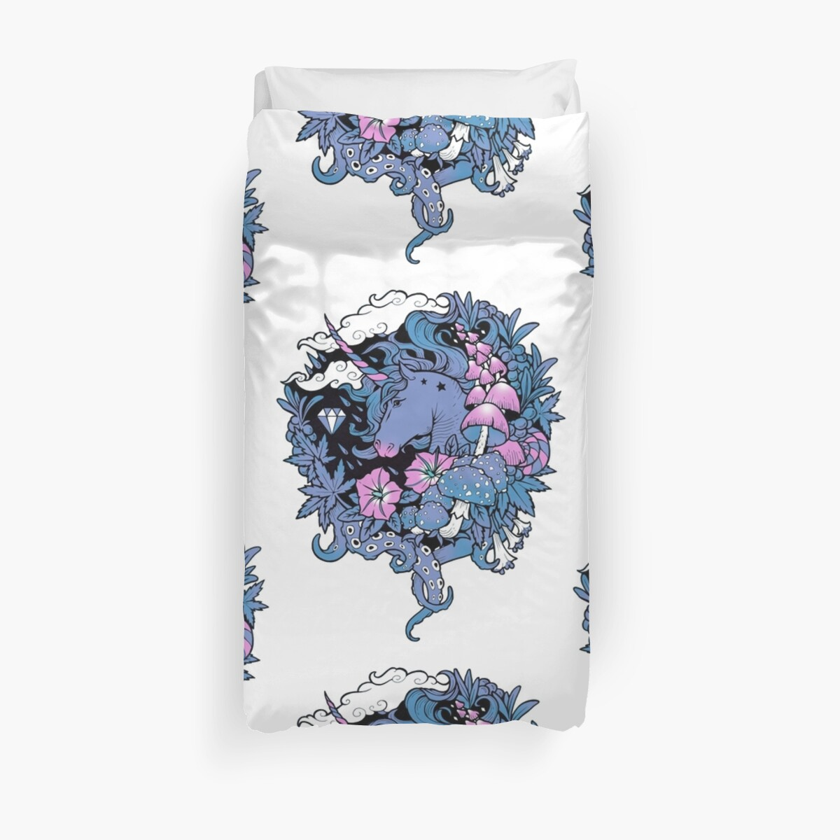 - Magical Unicorn - Duvet Cover
