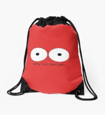 Why not DeCON? Drawstring Bag