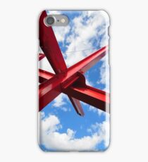 Are Years What?, (for Marianne Moore), by Mark di Suvero, Sculpture, Hirshhorn Museum of Art - Washington D.C. iPhone Case/Skin