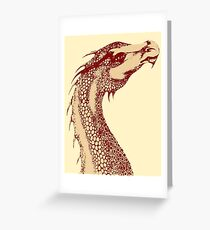 Petoskey Dragon Greeting Card