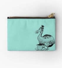 Teatime for Sir Dodo Zipper Pouch