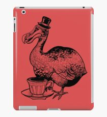 Teatime for Sir Dodo iPad Case/Skin