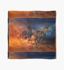 Two Horses Scarf