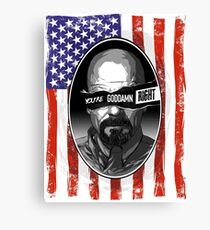 Anarchy in the ABQ Canvas Print