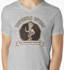 Boneweevil's Butchery - You tank 'em, I shank 'em Men's V-Neck T-Shirt