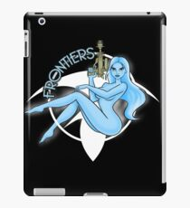 Jil Frontiers pin-up (for dark background) iPad Case/Skin