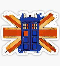 Dr Who - The Tardis - Vintage Jack Sticker