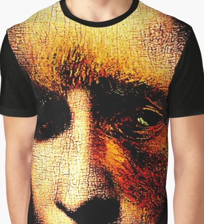 monalisa with eyes that watch the world and can't forget Graphic T-Shirt