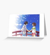 Spirited Away Greeting Card