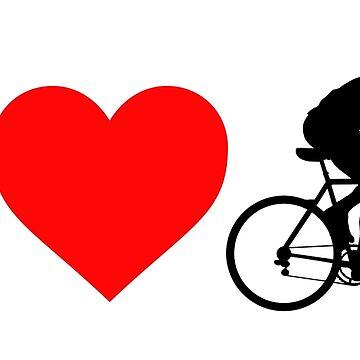 Ich liebe Radfahren von BeyondEvolved