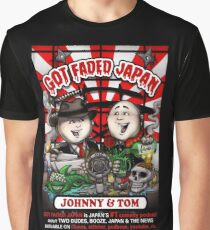 GOT FADED JAPAN PODCAST. NEW LOGO! Graphic T-Shirt