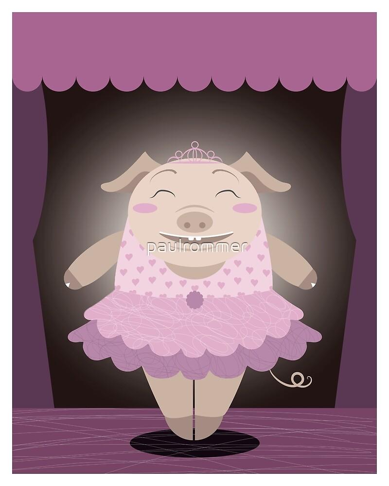 Dancing pig by paulrommer