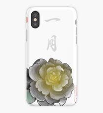 Inked Petals of a Year January iPhone Case/Skin