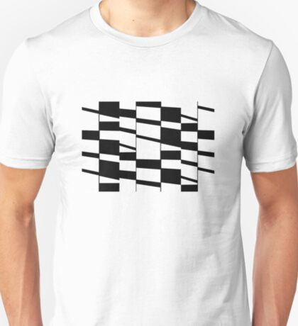 Slanting Rectangles T-Shirt