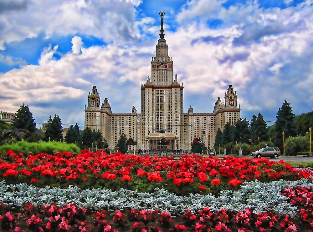 Moscow State University, Russia by vadim19