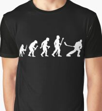 Ice Hockey Evolution Graphic T-Shirt