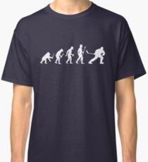 Ice Hockey Evolution Classic T-Shirt