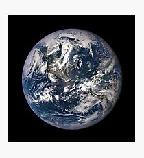 EPIC EARTH IMAGE FROM SPACE Photographic Print