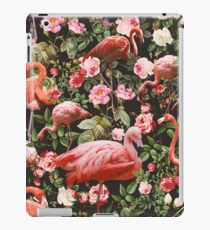 Floral and Flamingo Pattern iPad Case/Skin