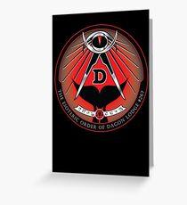 Esoteric Order of Dagon Lodge Greeting Card