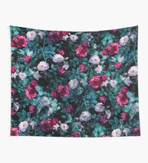 RPE FLORAL ABSTRACT III Wall Tapestry