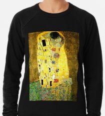 Der Kuss von Gustav Klimt Leichtes Sweatshirt