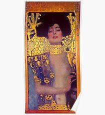 Judith by Gustav Klimt Poster