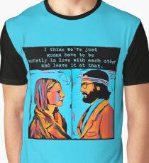 The Royal Tenenbaums Margot and Ritchie Graphic T-Shirt
