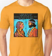 The Royal Tenenbaums Margot and Ritchie Unisex T-Shirt
