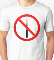 Vaping Not Permitted Sign T-Shirt