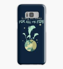 So Long, and Thanks for All the Fish Samsung Galaxy Case/Skin