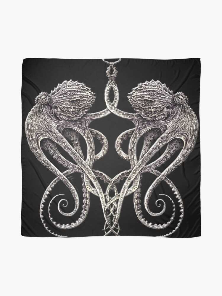 Alternate view of Cephalopods Scarf