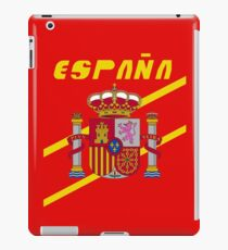 Team Spain Tee iPad Case/Skin