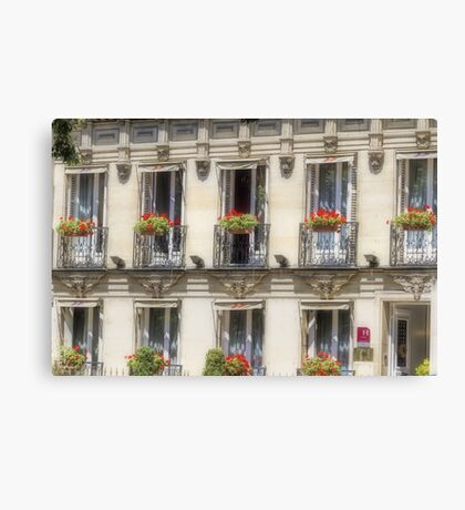 Windows with Style Canvas Print
