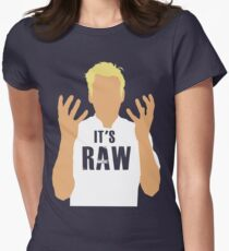 Gordon Ramsay -It's RAW! Womens Fitted T-Shirt