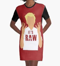 Gordon Ramsay -It's RAW! Graphic T-Shirt Dress