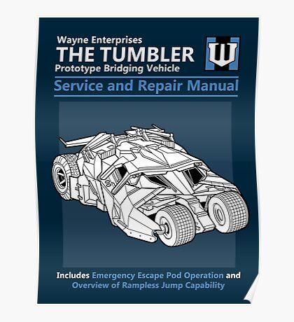 Bridging Vehicle Service and Repair Manual Poster